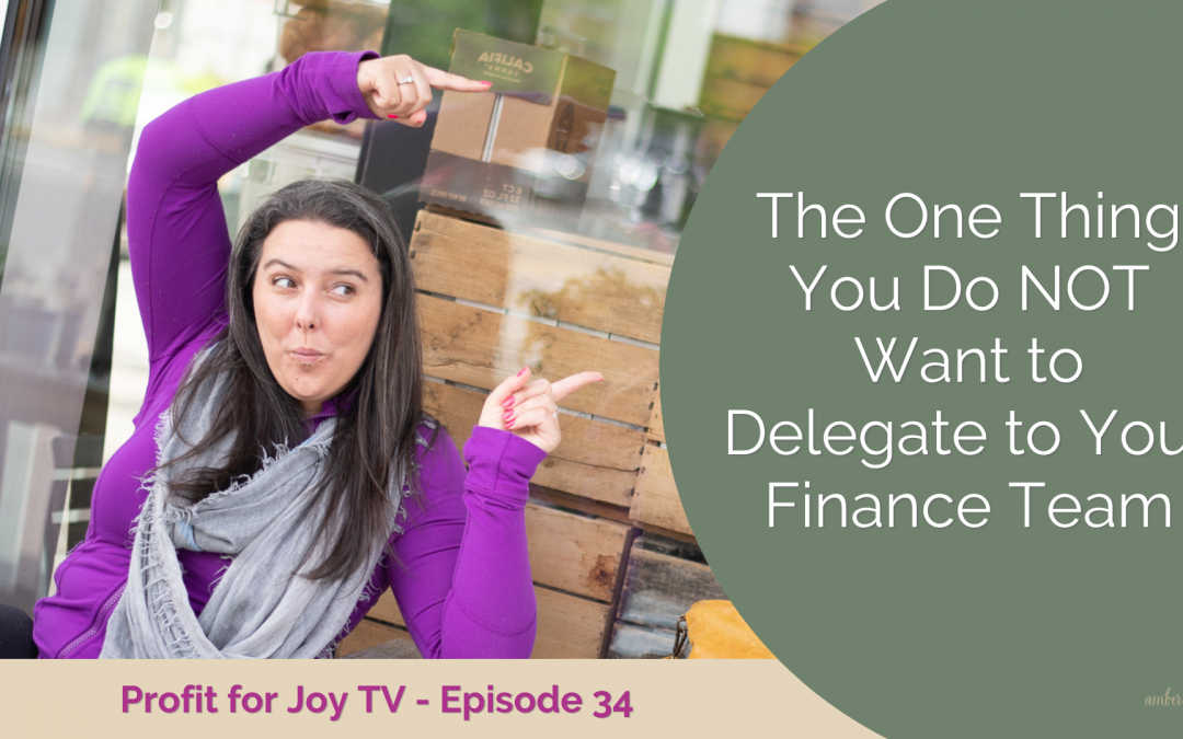 The one thing you do not want to delegate