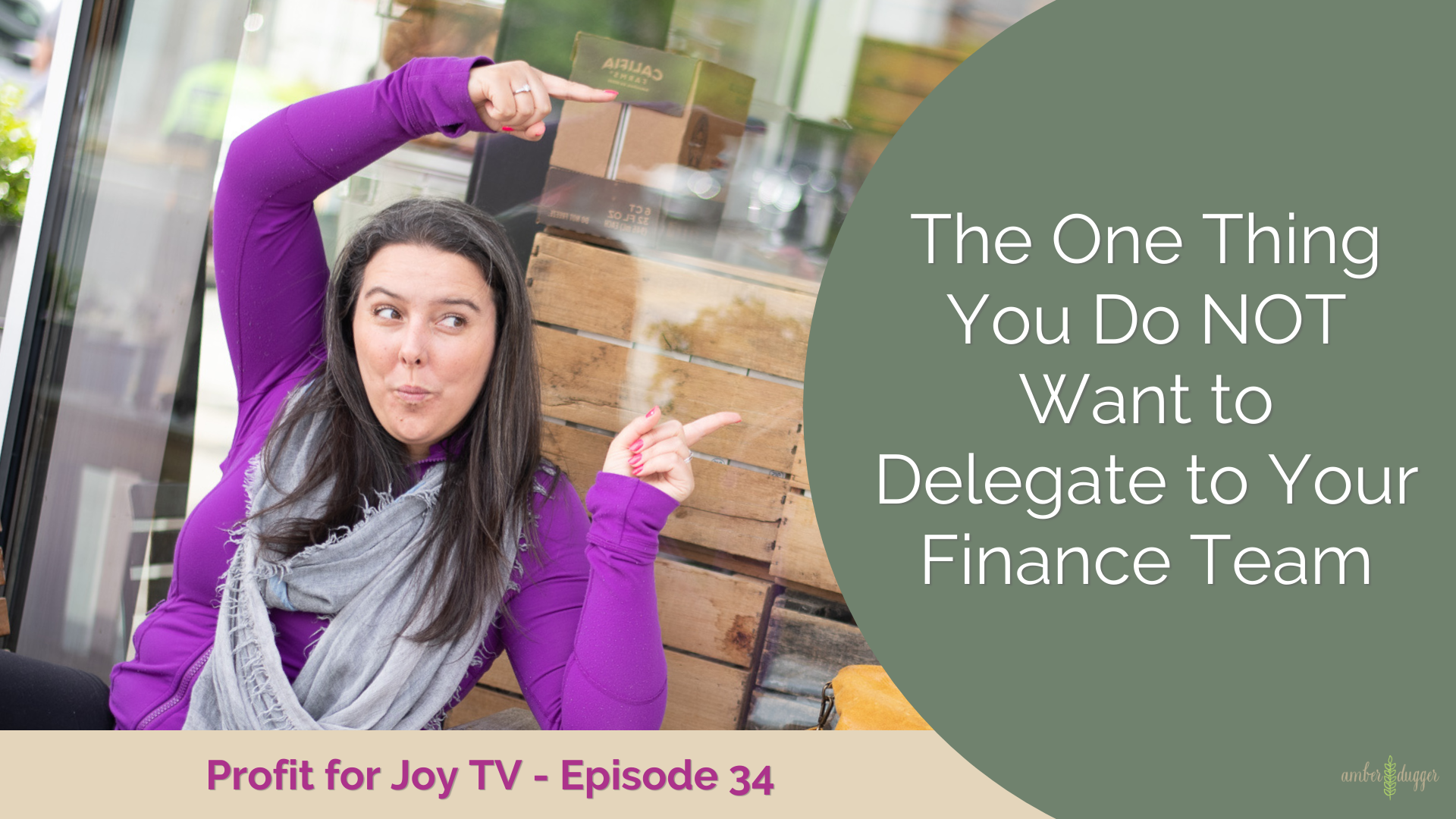 The One thing that you do NOT want to Delegate to your Finance Team