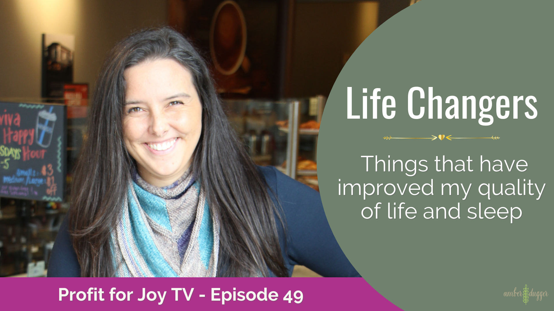 Life Changers – Things that have improved my quality of life and sleep