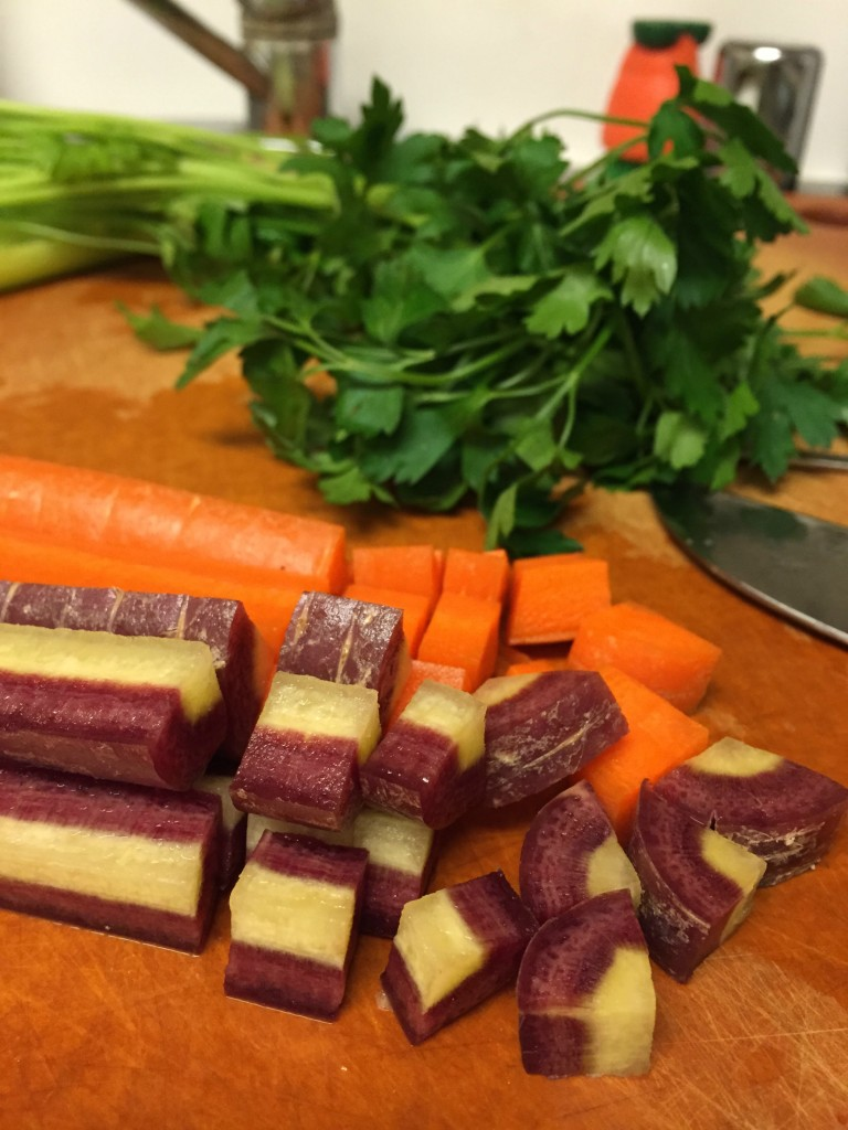 Multi-color carrots