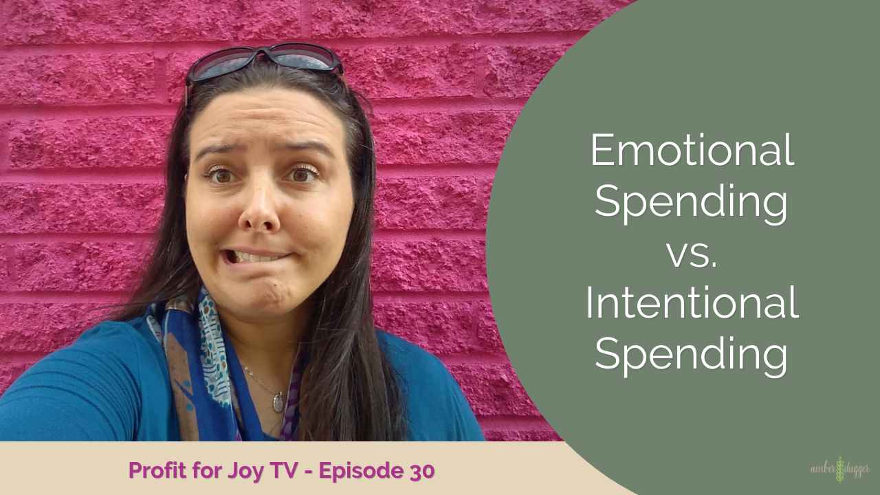 Emotional Spending vs. Intentional Spending