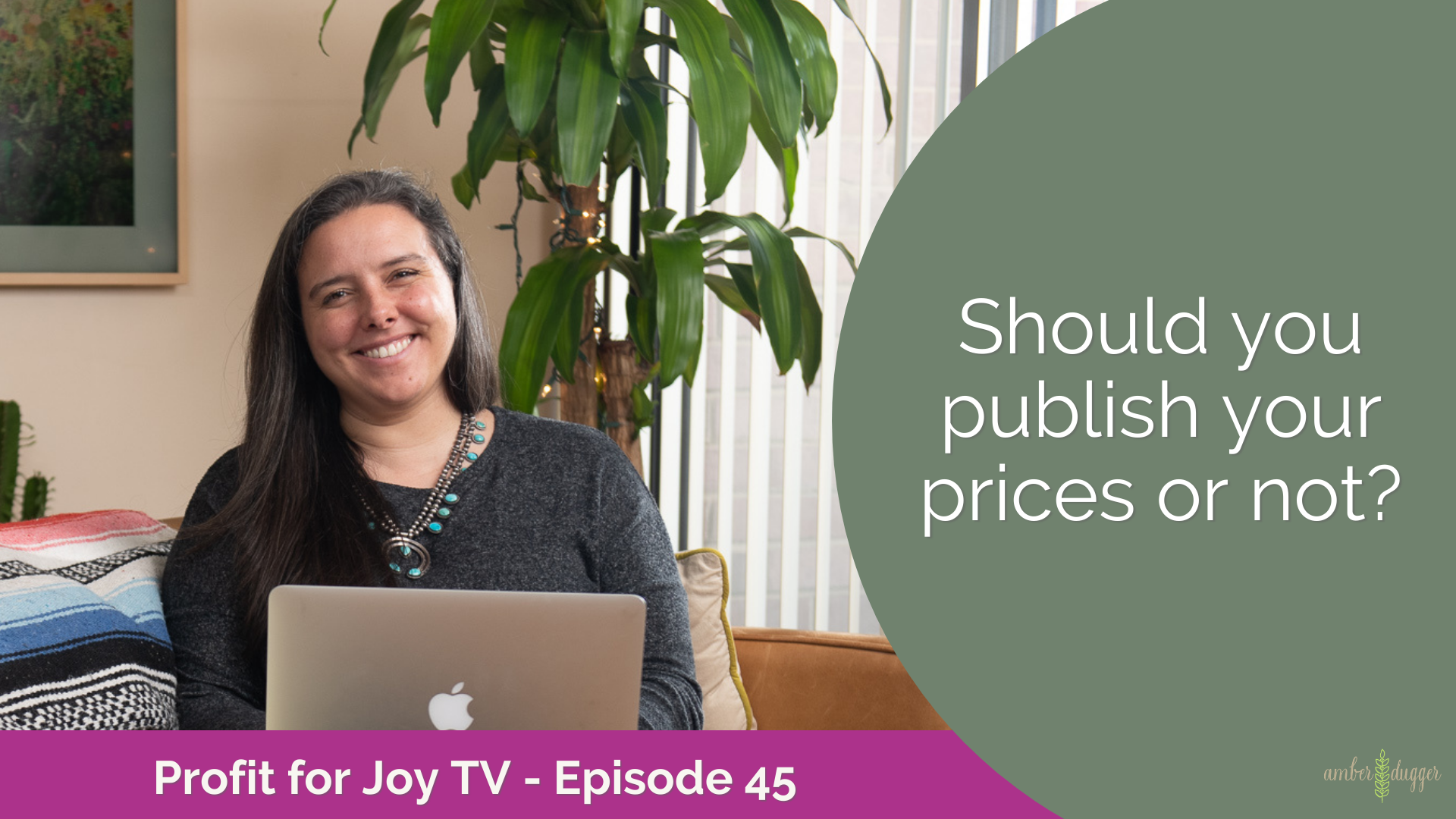 Should you publish your prices or not?